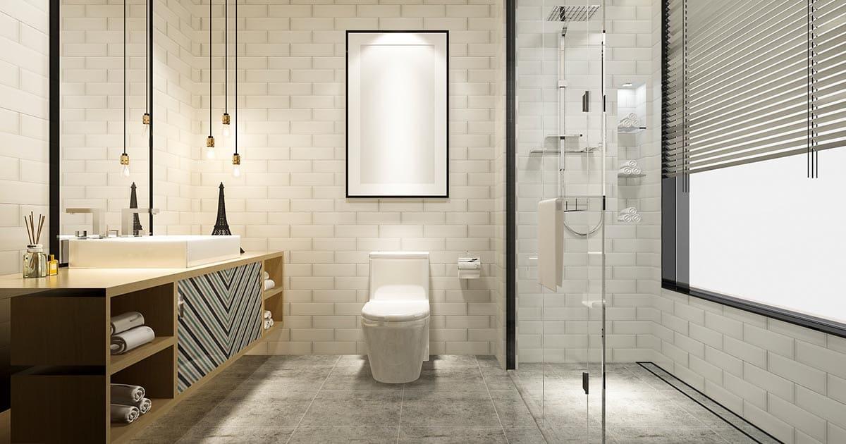 5 Hot Bathroom Trends